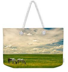 Prairie Horses Weekender Tote Bag