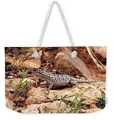 Prairie Lizard Weekender Tote Bag