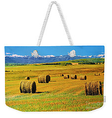 Prairie Moutains And Fields Weekender Tote Bag