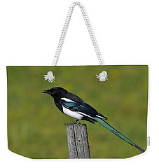 Prairie Perch Weekender Tote Bag