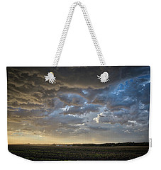 Prairie Skies Weekender Tote Bag by Keith Boone