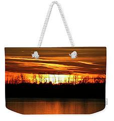 Prairie Sunset Weekender Tote Bag
