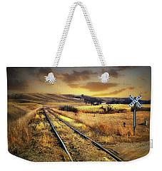 Prairie Tracks Weekender Tote Bag