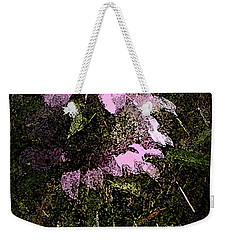 Prairie Weed Flower Weekender Tote Bag by Donna G Smith