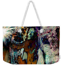 Praise Him With The Harp IIi Weekender Tote Bag by Anastasia Savage Ealy