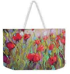 Praising Poppies Weekender Tote Bag
