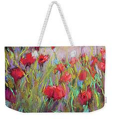 Praising Poppies Weekender Tote Bag