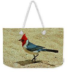 Prancing Brazil Cardinal Weekender Tote Bag