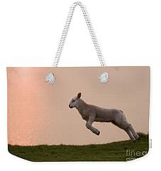 Prancing Lamb Weekender Tote Bag