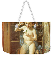 Pranks Of Love Weekender Tote Bag by Manuel Ocaranza