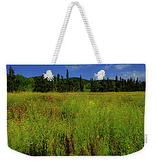 Weekender Tote Bag featuring the photograph Prati In Fiore - Blossoming Fields by Enrico Pelos