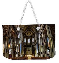 Cathedral In The Argentine Patagonia Weekender Tote Bag