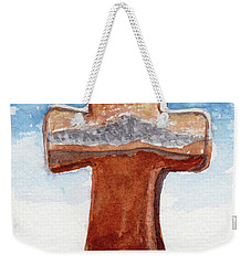 Prayer Cross Weekender Tote Bag
