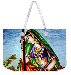 Krishna - Prayer Weekender Tote Bag