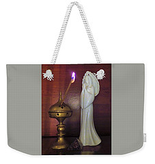 Weekender Tote Bag featuring the photograph Prayer Petition by Denise Fulmer