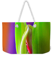 Weekender Tote Bag featuring the photograph Praying Leaves by Richard Ricci