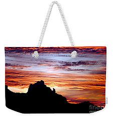 Praying Monk, Camelback Mountain, Phoenix Arizona Weekender Tote Bag