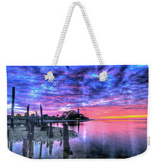 Pre Dawn At St. Marks #1 Weekender Tote Bag
