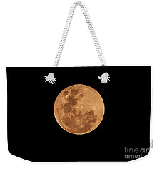 Post-penumbral Moon Weekender Tote Bag