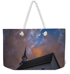 Weekender Tote Bag featuring the photograph Preacher by Aaron J Groen