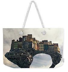 Precarious Weekender Tote Bag