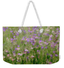 Precious Meadow Weekender Tote Bag by The Art Of Marilyn Ridoutt-Greene