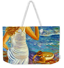Precious Memories  Weekender Tote Bag by Cristina Mihailescu