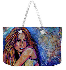 Precious Metals, Saucy Weekender Tote Bag
