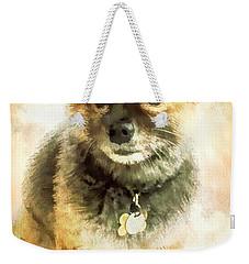 Precious Pomeranian Weekender Tote Bag