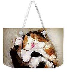 Precious Purrbaby Weekender Tote Bag