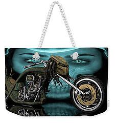 Predator Chopper Weekender Tote Bag by Louis Ferreira