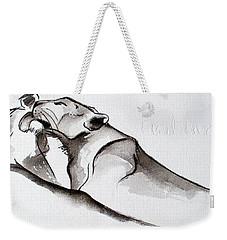 Preening Weekender Tote Bag