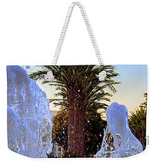 Weekender Tote Bag featuring the photograph Pregnant Water Fairy by Mariola Bitner