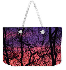 Prelude To The Cold Weekender Tote Bag