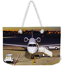 Preparing For Departure Weekender Tote Bag