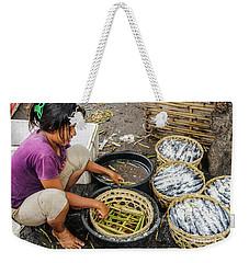 Preparing Pindang Tongkol Weekender Tote Bag by Werner Padarin