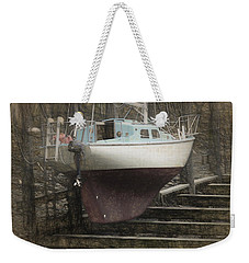 Preparing To Sail Weekender Tote Bag