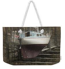 Preparing To Sail Weekender Tote Bag