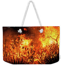 Prescribed Burn Weekender Tote Bag