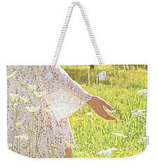 Present Moment.. Weekender Tote Bag by Nina Stavlund