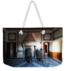 Weekender Tote Bag featuring the photograph Presenze - Presences by Enrico Pelos