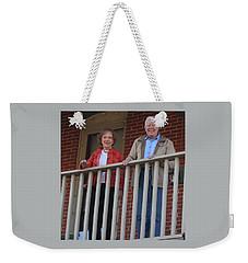 President And Mrs Carter On Plains Inn Balcony Weekender Tote Bag