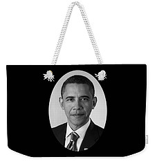 President Barack Obama Weekender Tote Bag by War Is Hell Store
