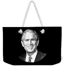 President George W. Bush Graphic Weekender Tote Bag