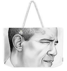 President Obama Weekender Tote Bag by Greg Joens
