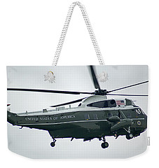 President Obama Onboard Weekender Tote Bag