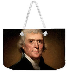 President Thomas Jefferson  Weekender Tote Bag