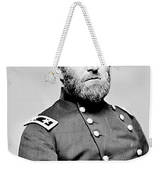 President Ulysses S Grant In Uniform Weekender Tote Bag by International  Images