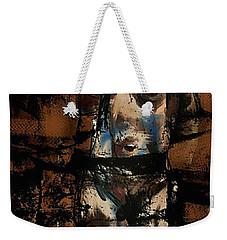 Pressure Cracked Weekender Tote Bag by Jim Vance