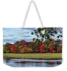 Pretty Autumn Scene Weekender Tote Bag